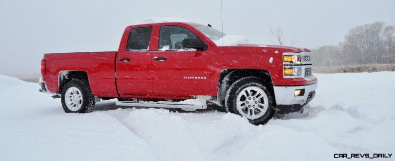 CarRevsDaily - Snowy Test Photos - 2014 Chevrolet Silverado All-Star Edition 6