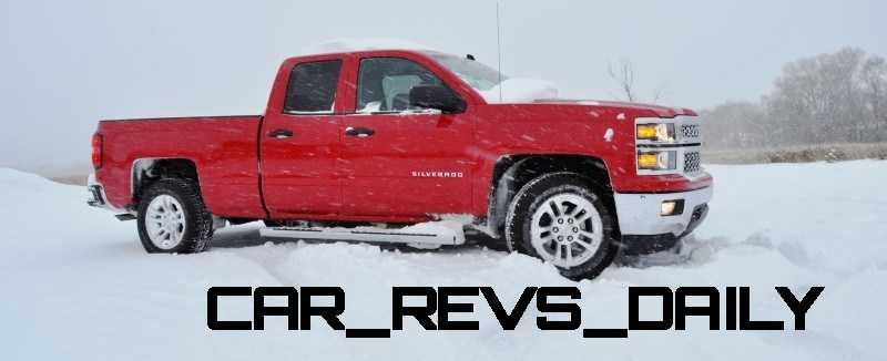 CarRevsDaily - Snowy Test Photos - 2014 Chevrolet Silverado All-Star Edition 6