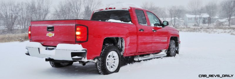 CarRevsDaily - Snowy Test Photos - 2014 Chevrolet Silverado All-Star Edition 8