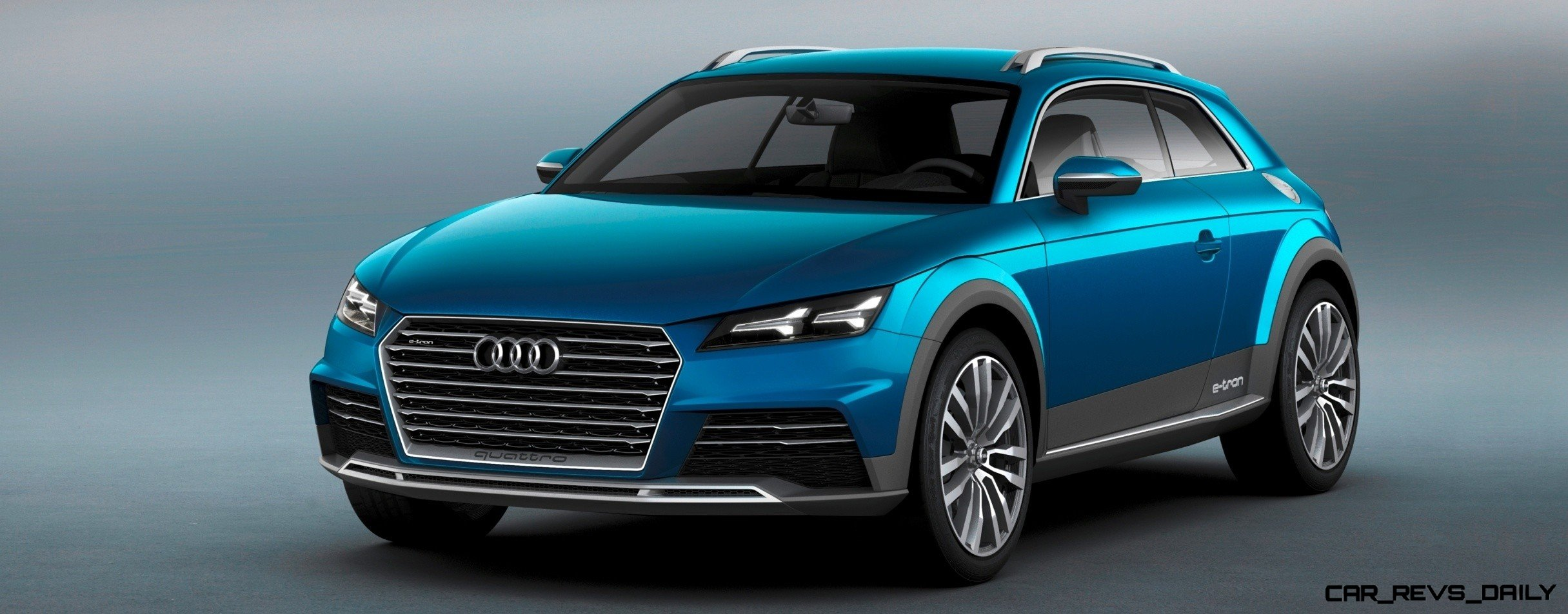 to 60mph 148mpg plug in hybrid awd audi tt offroad concept a sure thing as future q2. Black Bedroom Furniture Sets. Home Design Ideas