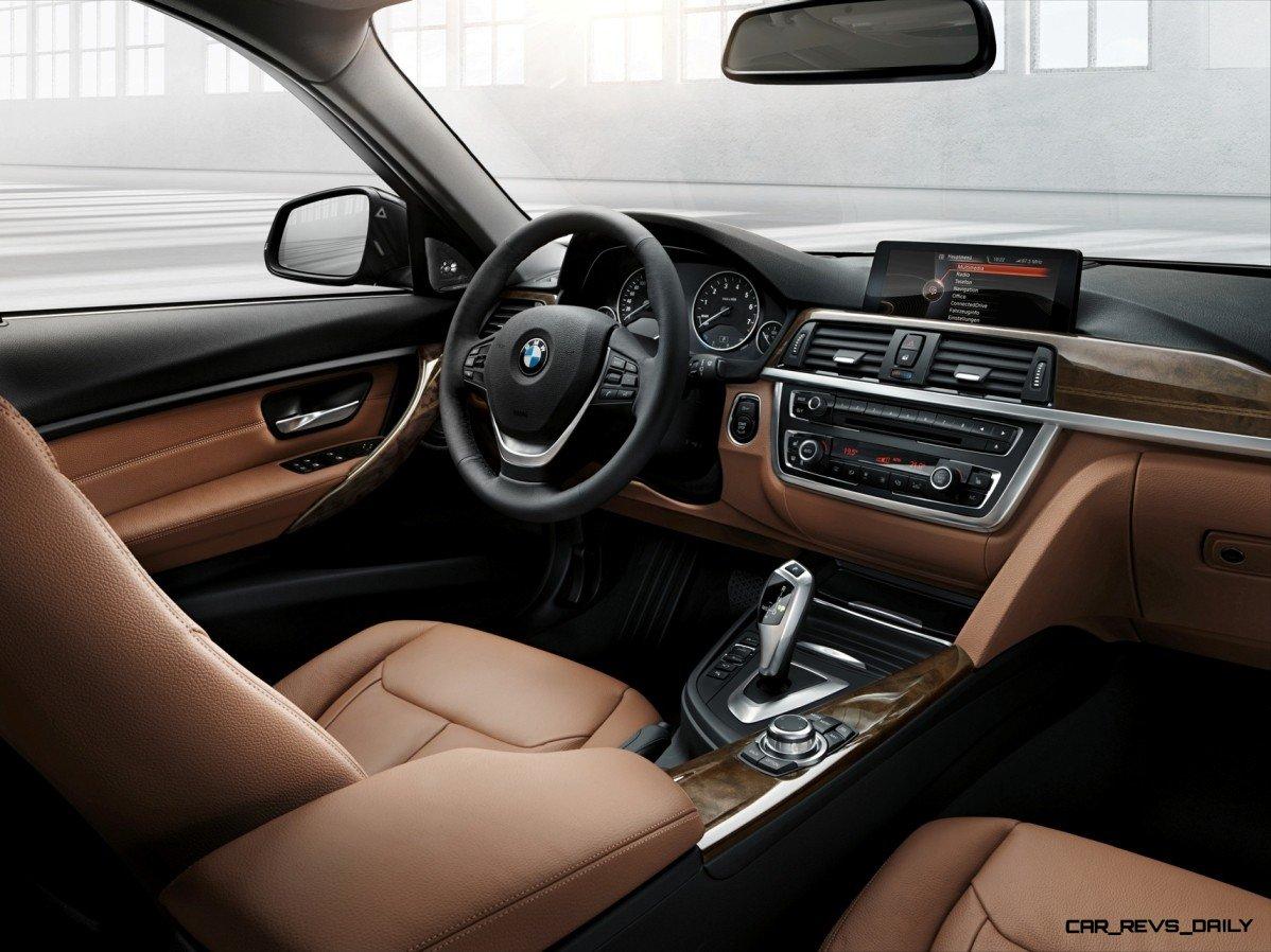CarRevsDailycom BMW Sport Wagon Interior - 2014 328 bmw