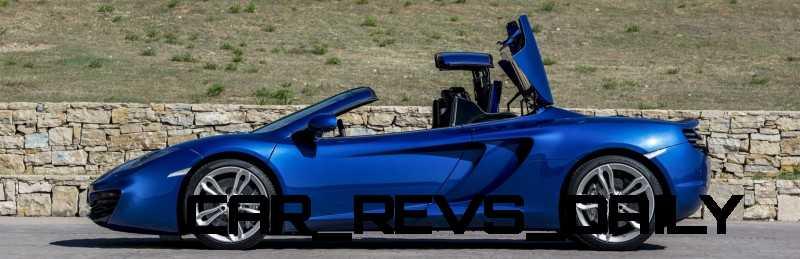 CarRevsDaily.com - 2014 McLaren 12C Spider Updates 11