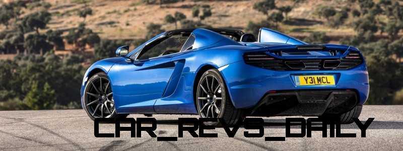 CarRevsDaily.com - 2014 McLaren 12C Spider Updates 24