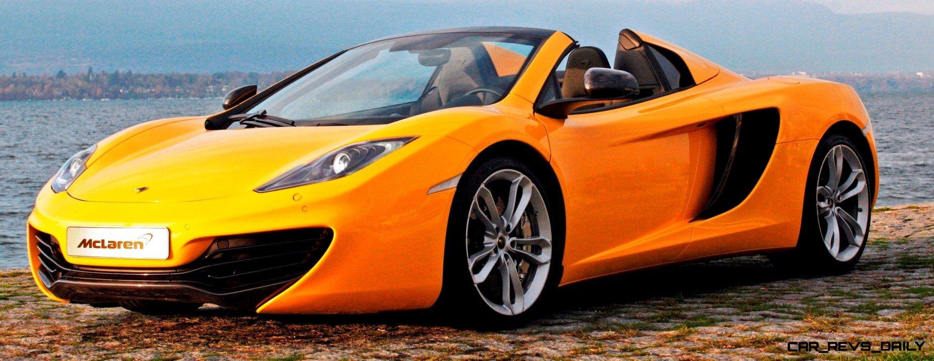 CarRevsDaily.com - 2014 McLaren 12C Spider Updates 36