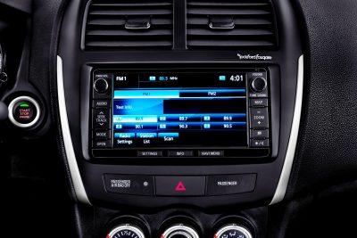 2014 Mitsubishi Outlander Sport SE Interior
