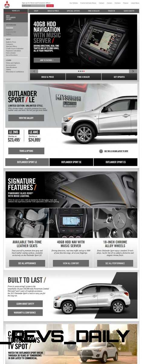 CarRevsDaily.com 2014 Mitsubishi Outlander Sport Updates and Photos 24