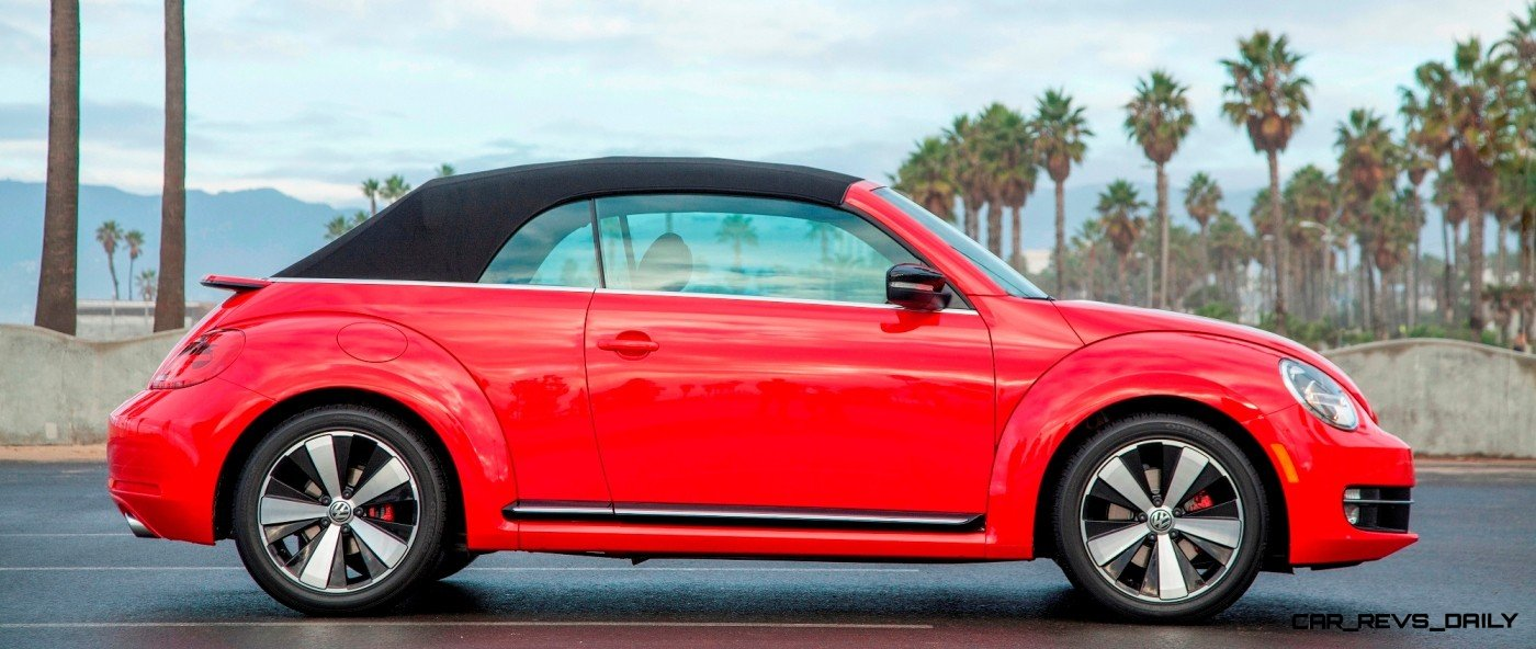 CarRevsDaily.com - 2014 VW Beetle Cabrio in Santa Monica 1