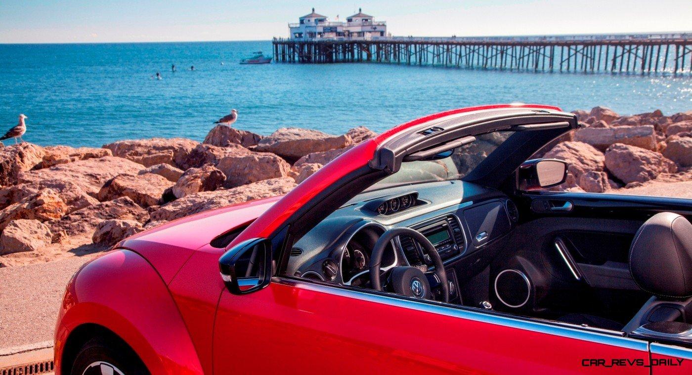 CarRevsDaily.com - 2014 VW Beetle Cabrio in Santa Monica 11