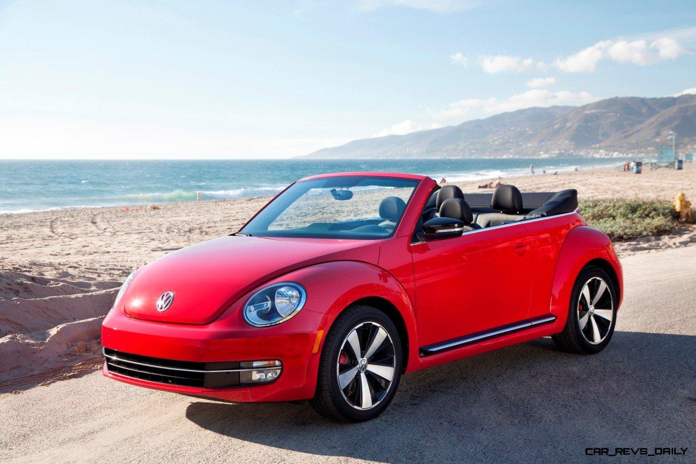 CarRevsDaily.com - 2014 VW Beetle Cabrio in Santa Monica 13