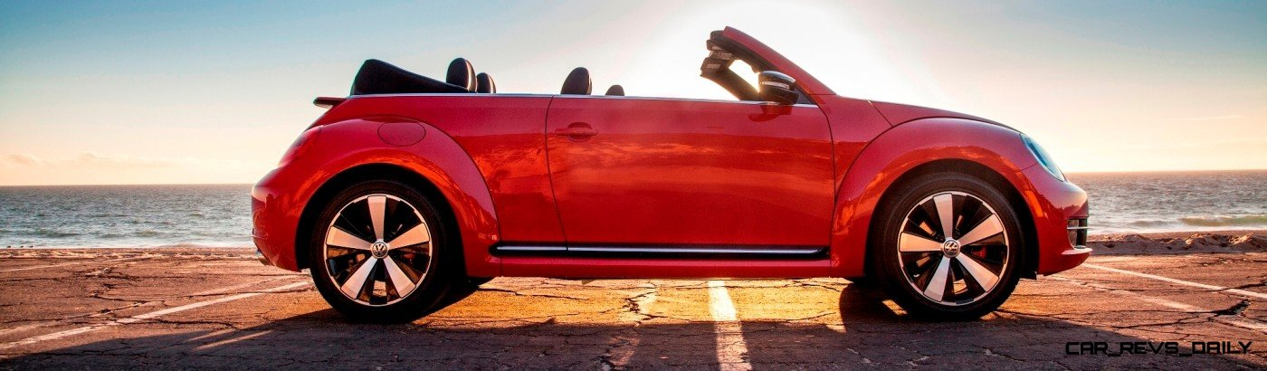 CarRevsDaily.com - 2014 VW Beetle Cabrio in Santa Monica 15