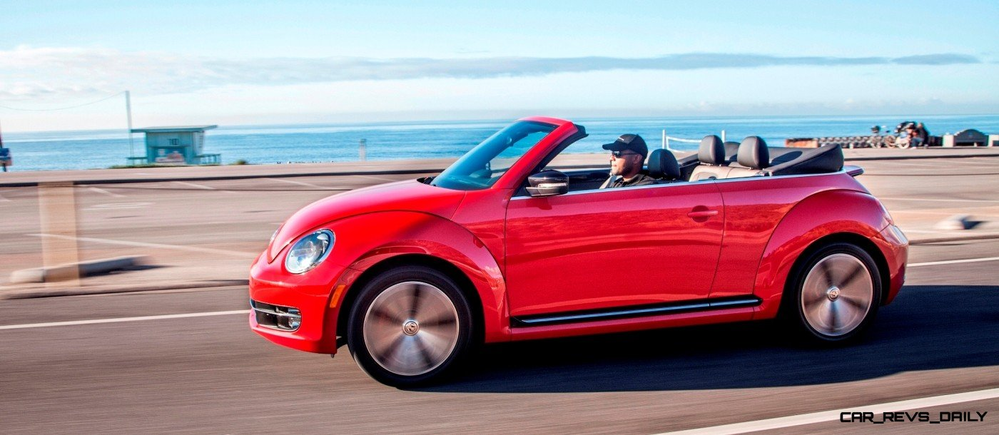 CarRevsDaily.com 2014 VW Beetle Cabrio in Santa Monica 23 photo
