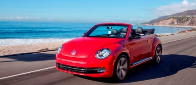 2014 VW Beetle Turbo, TDI and Cabrio   Buyers Guide and Photo Galleries  CarRevsDaily.com 2014 VW Beetle Cabrio in Santa Monica 24 400x174 photo