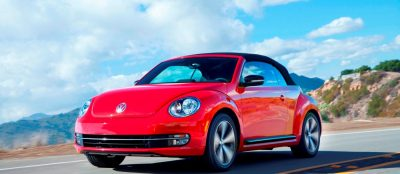 2014 VW Beetle Turbo, TDI and Cabrio   Buyers Guide and Photo Galleries  CarRevsDaily.com 2014 VW Beetle Cabrio in Santa Monica 25 400x174 photo
