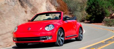 2014 VW Beetle Turbo, TDI and Cabrio   Buyers Guide and Photo Galleries  CarRevsDaily.com 2014 VW Beetle Cabrio in Santa Monica 27 400x174 photo