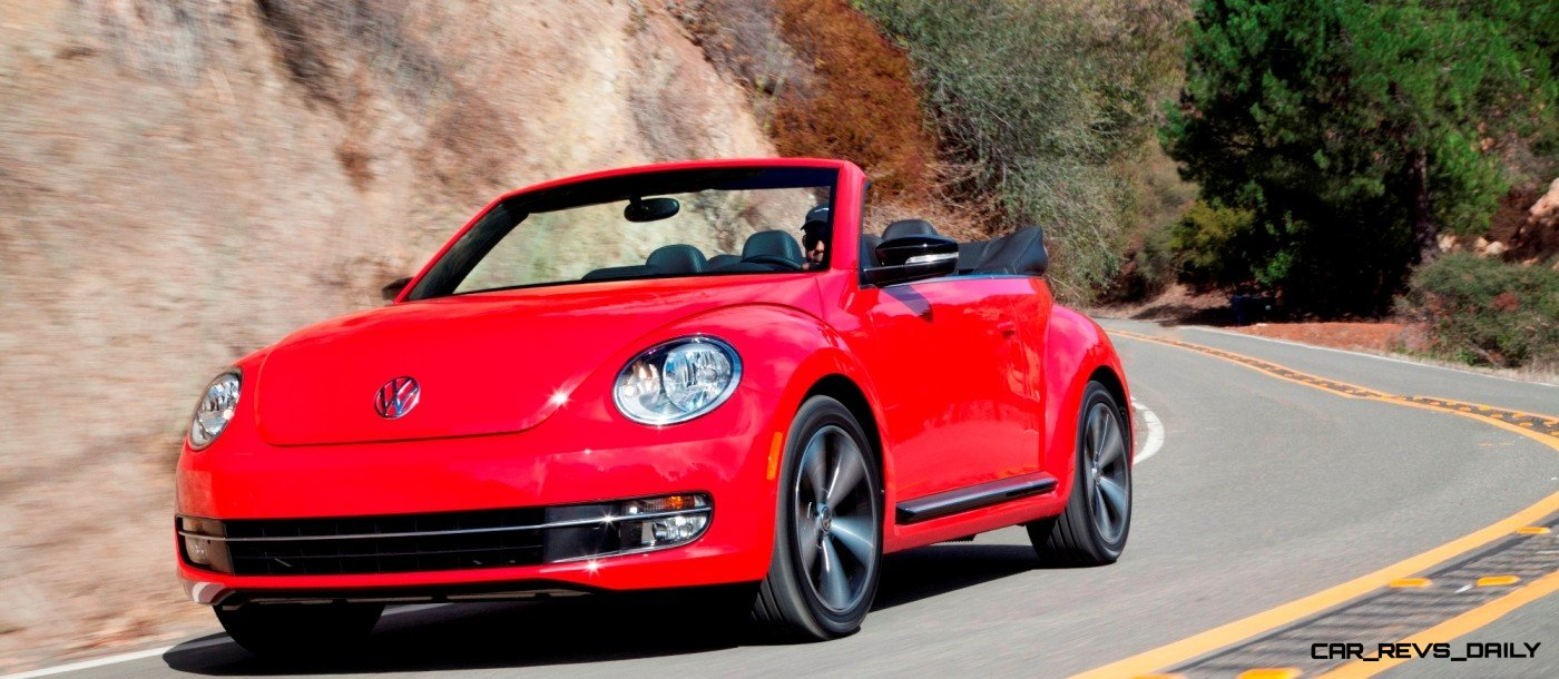 CarRevsDaily.com 2014 VW Beetle Cabrio in Santa Monica 27 photo