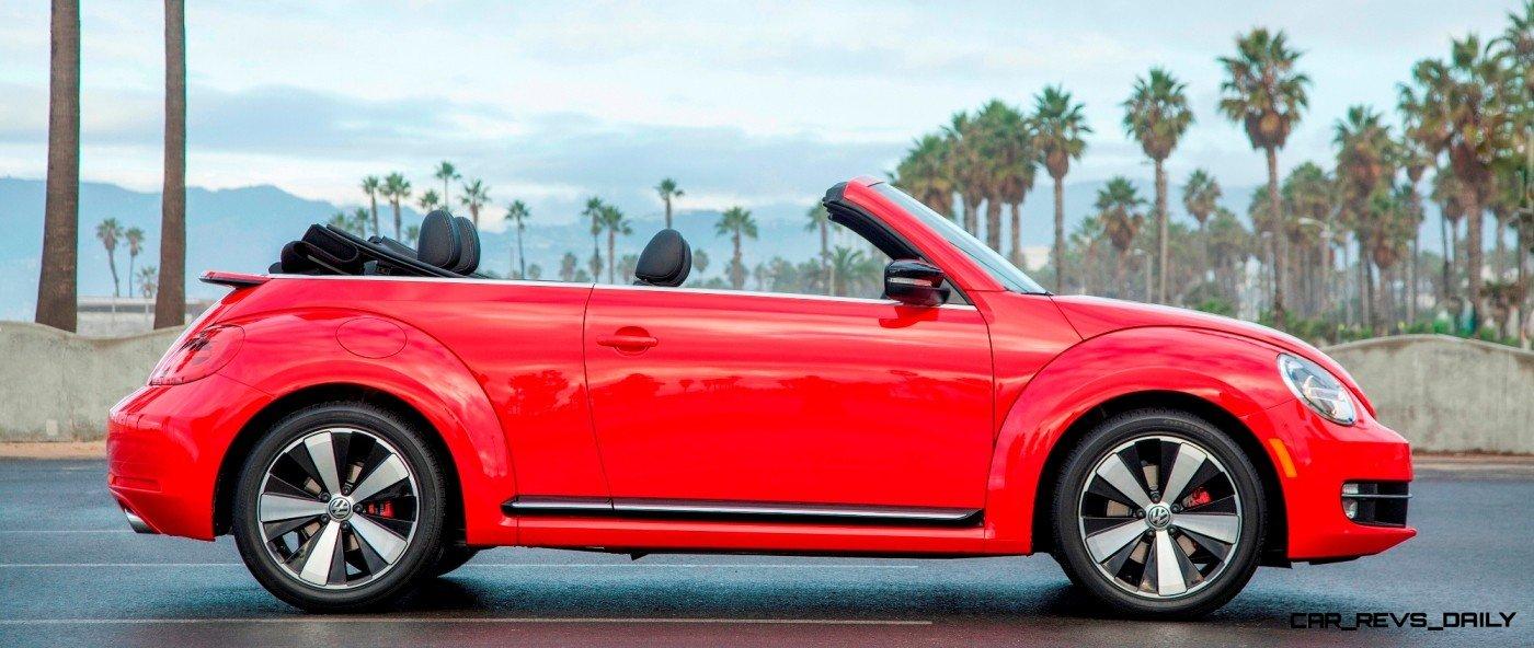 CarRevsDaily.com - 2014 VW Beetle Cabrio in Santa Monica 3