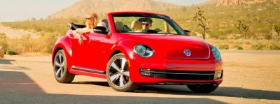 2014 VW Beetle Turbo, TDI and Cabrio   Buyers Guide and Photo Galleries  CarRevsDaily.com 2014 VW Beetle Cabrio in Santa Monica 30 400x149 photo