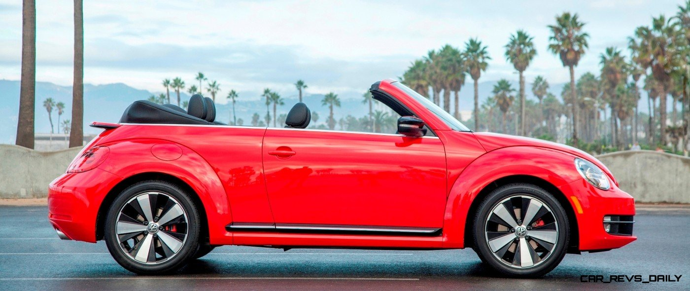 CarRevsDaily.com - 2014 VW Beetle Cabrio in Santa Monica 4