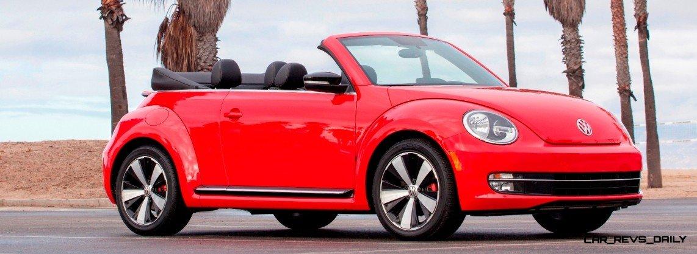 CarRevsDaily.com - 2014 VW Beetle Cabrio in Santa Monica 5