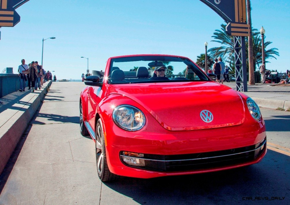 CarRevsDaily.com 2014 VW Beetle Cabrio in Santa Monica 9 photo