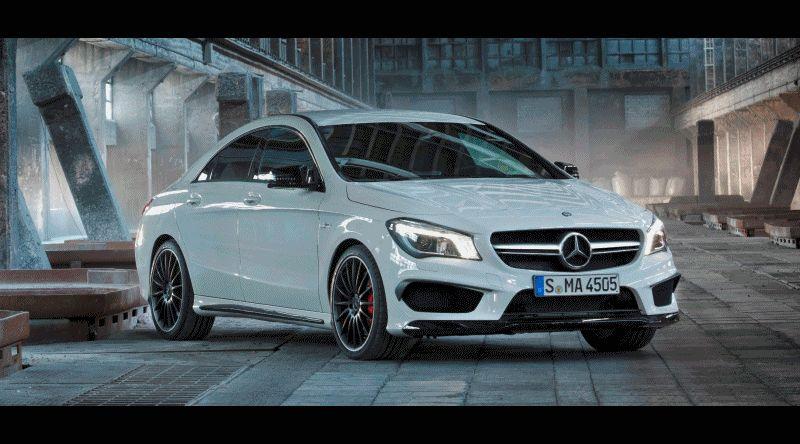 CarRevsDaily.com - CLA45 AMG GIF
