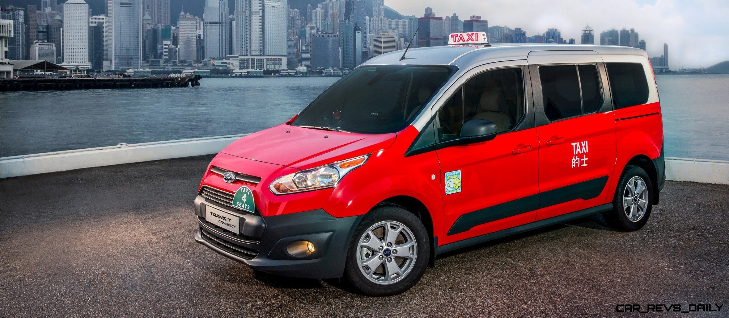 Update1 Future Taxi Faceoff Ford Transit Connect Vs