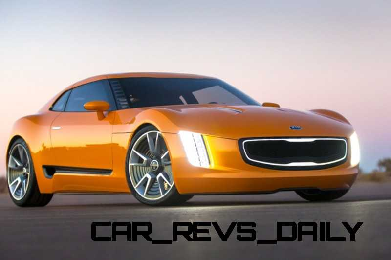 CarRevsDaily.com -- KIA GT4 STINGER Concept -- Track Thrills -- RWD Layout -- 315HP Turbo -- Lightweight Aero Shell 1