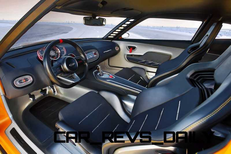 CarRevsDaily.com -- KIA GT4 STINGER Concept -- Track Thrills -- RWD Layout -- 315HP Turbo -- Lightweight Aero Shell 26