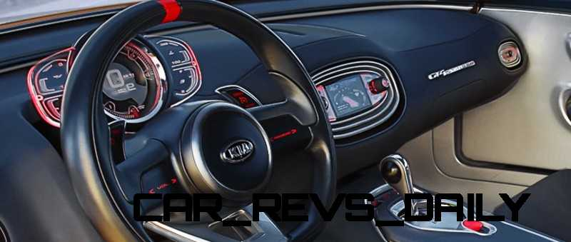 CarRevsDaily.com -- KIA GT4 STINGER Concept -- Track Thrills -- RWD Layout -- 315HP Turbo -- Lightweight Aero Shell 27