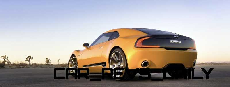 CarRevsDaily.com -- KIA GT4 STINGER Concept -- Track Thrills -- RWD Layout -- 315HP Turbo -- Lightweight Aero Shell 31