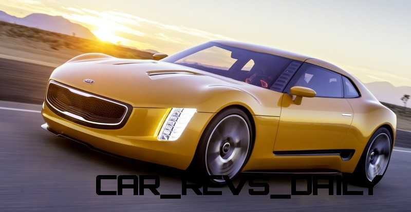 CarRevsDaily.com -- KIA GT4 STINGER Concept -- Track Thrills -- RWD Layout -- 315HP Turbo -- Lightweight Aero Shell 32