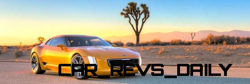 CarRevsDaily.com -- KIA GT4 STINGER Concept -- Track Thrills -- RWD Layout -- 315HP Turbo -- Lightweight Aero Shell 5