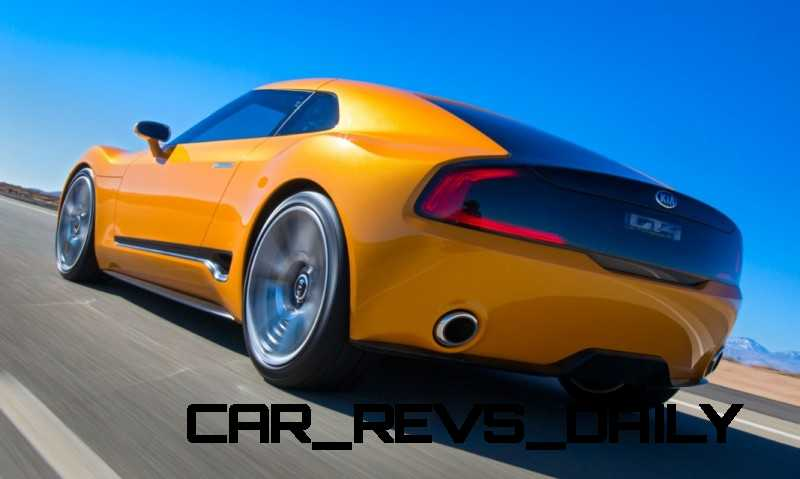 CarRevsDaily.com -- KIA GT4 STINGER Concept -- Track Thrills -- RWD Layout -- 315HP Turbo -- Lightweight Aero Shell 8