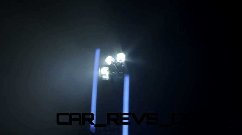 CarRevsDaily.com - Laser Lighting for 2014 AUDI R18 LeMans 1