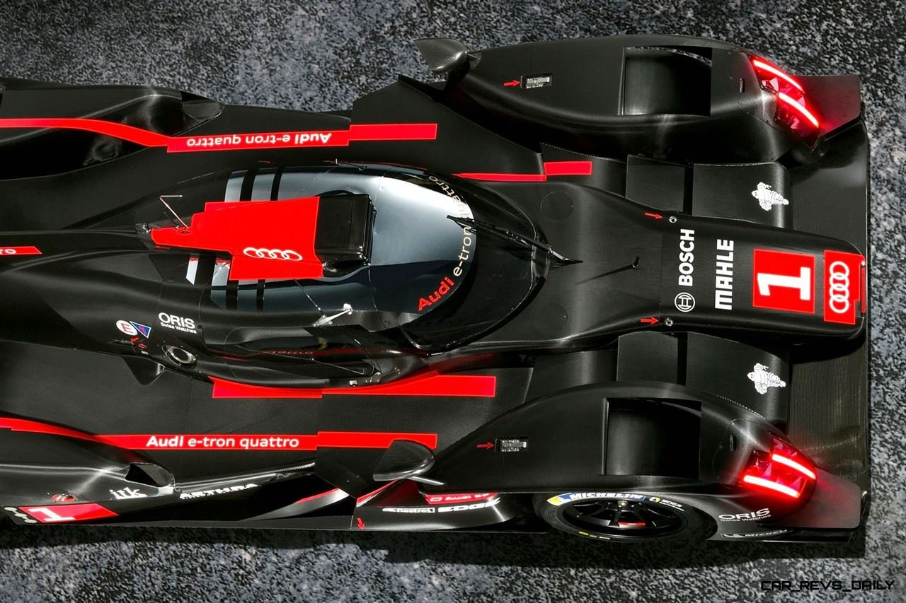 CarRevsDaily.com - Laser Lighting for 2014 AUDI R18 LeMans 22