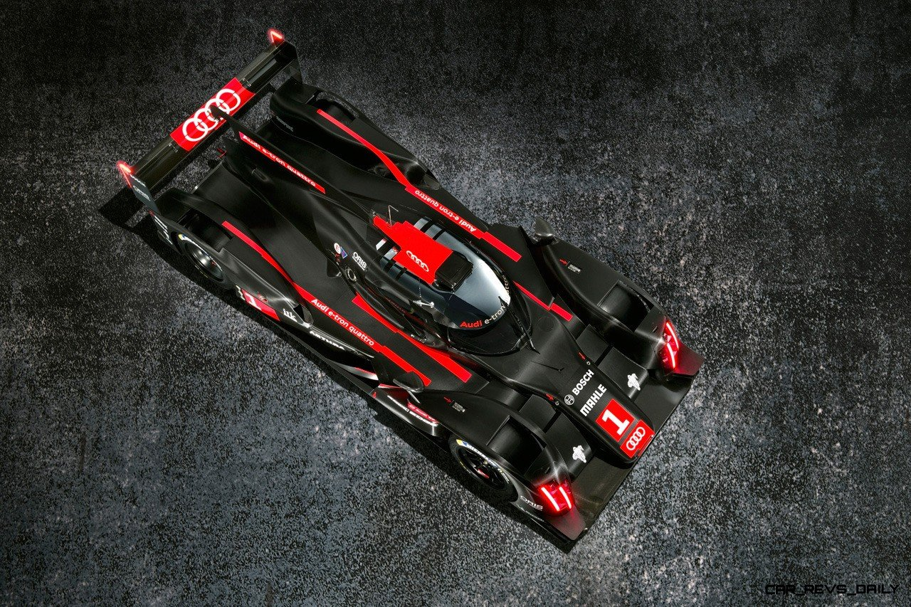 CarRevsDaily.com - Laser Lighting for 2014 AUDI R18 LeMans 42