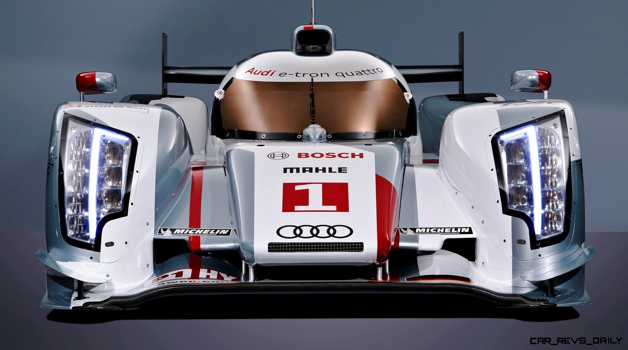 CarRevsDaily.com - Laser Lighting for 2014 AUDI R18 LeMans 49