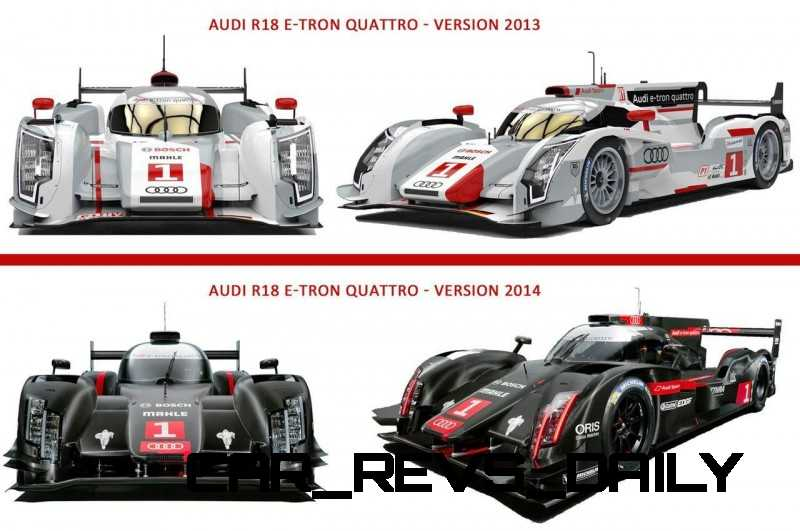 CarRevsDaily.com - Laser Lighting for 2014 AUDI R18 LeMans 58