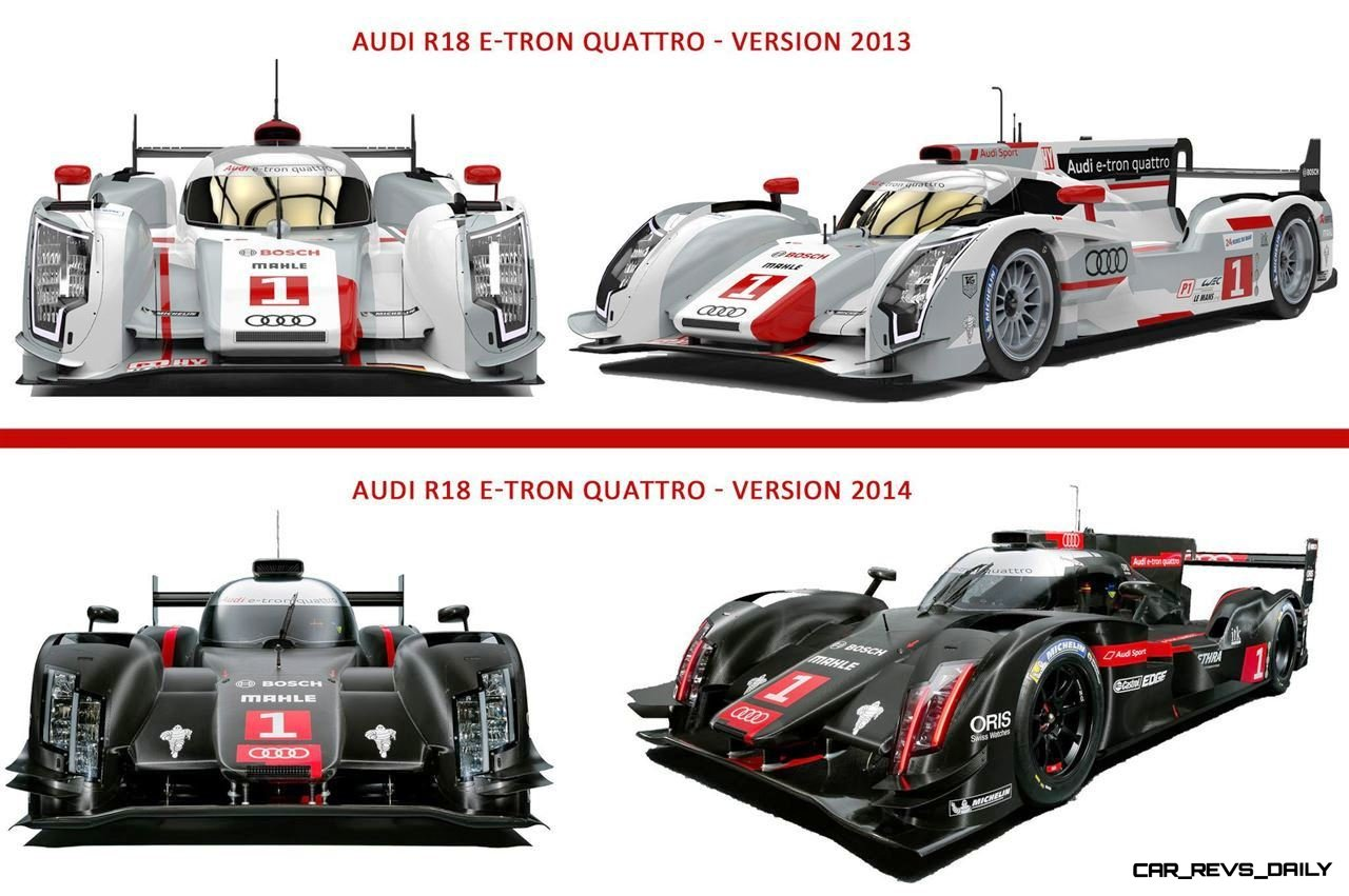 audi lemans r18 laser light smoke and mirrors 2014 e. Black Bedroom Furniture Sets. Home Design Ideas