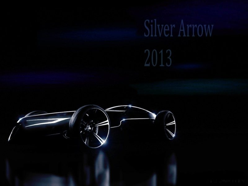 CarRevsDaily.com - Phil Berger Envisions Future Silver Arrow Racer 13