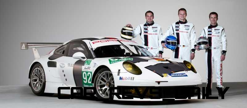 CarRevsDaily.com - Porsche 911 Racers Compared - 2014 Porsche 911 RSR (Type 991) 11