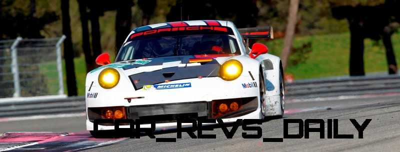 CarRevsDaily.com - Porsche 911 Racers Compared - 2014 Porsche 911 RSR (Type 991) 3