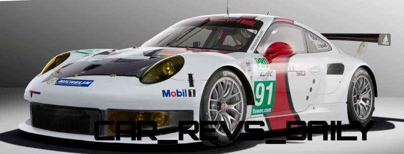 CarRevsDaily.com - Porsche 911 Racers Compared - 2014 Porsche 911 RSR (Type 991) 7