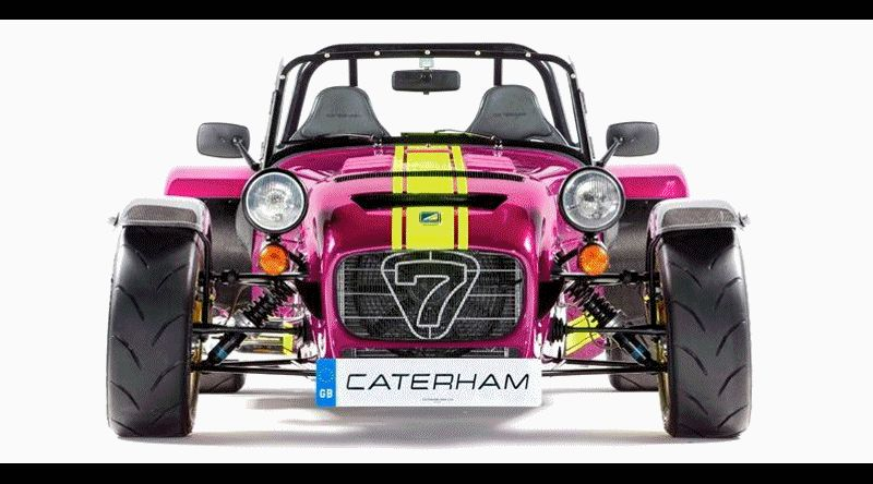 Caterham Coming to America!  620R to be sold by Superformance GIF
