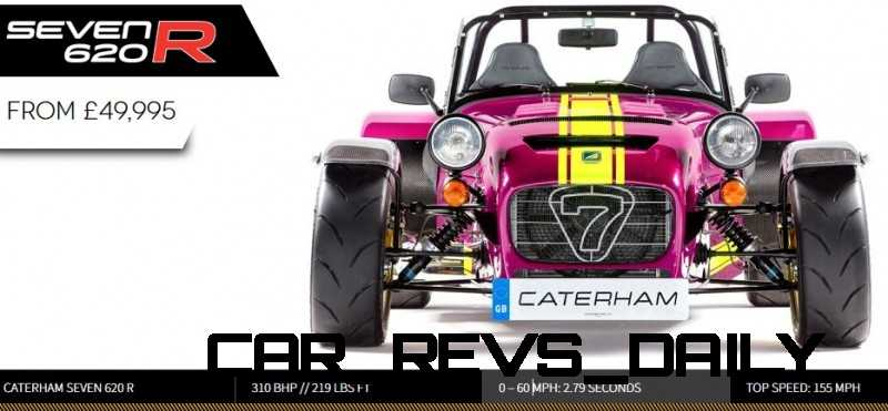 Caterham Coming to America!  620R to be sold by Superformance (Without An Engine...) 1