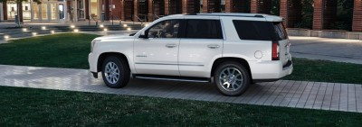 Color Visualizer for the 2015 GMC Yukon Denali - Summit White 10