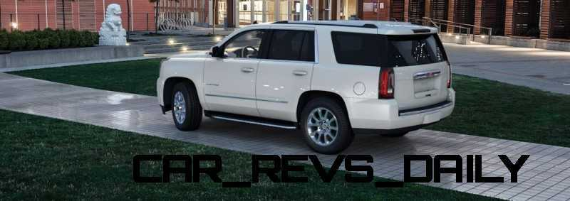 Color Visualizer for the 2015 GMC Yukon Denali - Summit White 12