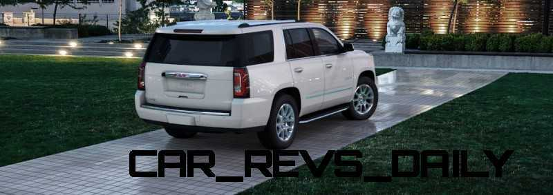 Color Visualizer for the 2015 GMC Yukon Denali - Summit White 20