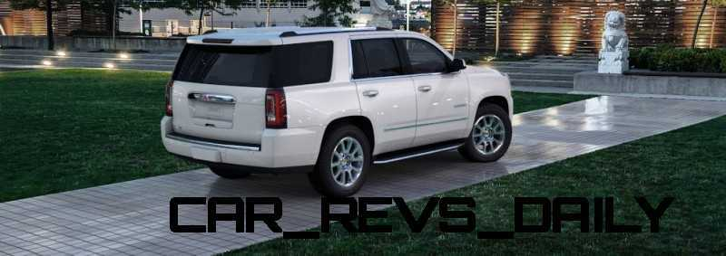 Color Visualizer for the 2015 GMC Yukon Denali - Summit White 22