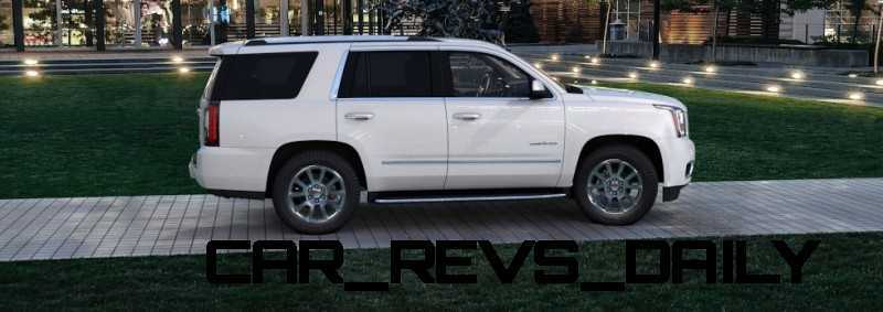 Color Visualizer for the 2015 GMC Yukon Denali - Summit White 26